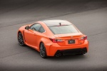 2017 Lexus RC-F in Molten Pearl - Static Rear Left Top View