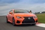 2017 Lexus RC-F in Molten Pearl - Driving Front Right View