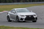 2017 Lexus RC-F in Silver Lining Metallic - Driving Front Right View