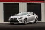 2018 Lexus RC350 F-Sport in Silver Lining Metallic - Static Front Left Three-quarter View