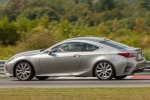 2018 Lexus RC350 F-Sport in Nebula Gray Pearl - Driving Rear Left Three-quarter View