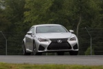 2018 Lexus RC-F in Silver Lining Metallic - Driving Frontal View