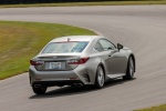 2018 Lexus RC350 F-Sport in Nebula Gray Pearl - Driving Rear Right View