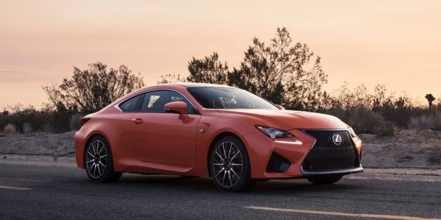 2018 Lexus RC Pictures
