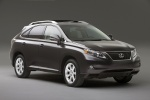 2011 Lexus RX350 in Obsidian - Static Front Right Three-quarter View