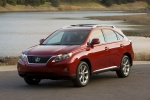 2011 Lexus RX350 in Matador Red Mica - Static Front Left View