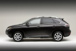 2011 Lexus RX350 in Obsidian - Static Side View