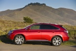2011 Lexus RX350 in Matador Red Mica - Static Side View