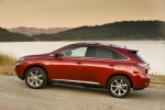 2011 Lexus RX350 in Matador Red Mica - Static Left Side View