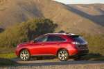 2011 Lexus RX350 in Matador Red Mica - Static Rear Left Three-quarter View
