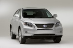 2011 Lexus RX450h in Tungsten Pearl - Static Front Right View