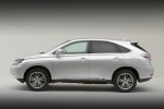 2011 Lexus RX450h in Tungsten Pearl - Static Side View