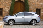 2011 Lexus RX450h in Cerulean Blue Metallic - Static Left Side View