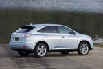 2011 Lexus RX450h in Cerulean Blue Metallic - Static Rear Right Three-quarter View