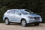 2011 Lexus RX450h in Cerulean Blue Metallic - Static Front Right Three-quarter View