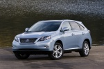 2011 Lexus RX450h in Cerulean Blue Metallic - Static Front Left View