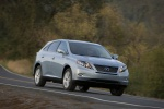 2011 Lexus RX450h in Cerulean Blue Metallic - Driving Front Right View