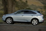 2011 Lexus RX450h in Cerulean Blue Metallic - Driving Left Side View