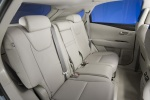 2011 Lexus RX350 Rear Seats