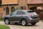 2013 Lexus RX350 in Nebula Gray Pearl - Static Rear Left Three-quarter View