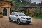 2013 Lexus RX350 F-Sport in Silver Lining Metallic - Static Front Right Three-quarter View
