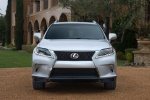 2013 Lexus RX350 F-Sport in Silver Lining Metallic - Static Frontal View