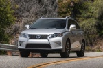 2013 Lexus RX350 F-Sport in Silver Lining Metallic - Driving Front Left View