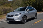 2013 Lexus RX350 F-Sport in Silver Lining Metallic - Driving Front Left Three-quarter View