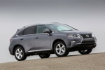 2013 Lexus RX350 in Nebula Gray Pearl - Static Front Right Three-quarter View