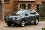 2013 Lexus RX350 in Nebula Gray Pearl - Static Front Left View