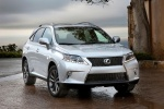 2014 Lexus RX350 F-Sport in Silver Lining Metallic - Static Front Right View