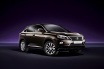 2015 Lexus RX350 in Fire Agate Pearl - Static Front Right Three-quarter View