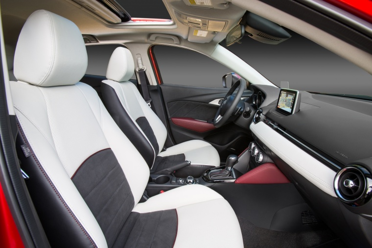 2017 Mazda CX-3 Front Seats Picture