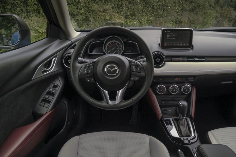 2017 Mazda CX-3 Cockpit Picture