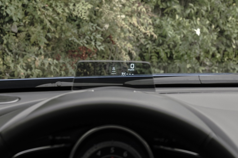 2017 Mazda CX-3 Head-up Display Picture