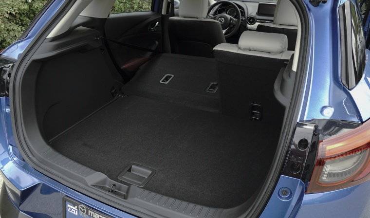2017 Mazda CX-3 Trunk Picture