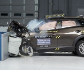 2017 Mazda CX-3 IIHS Frontal Impact Crash Test Picture