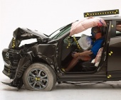2018 Mazda CX-3 IIHS Frontal Impact Crash Test Picture