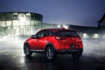 2018 Mazda CX-3 in Soul Red Metallic - Static Rear Left Three-quarter View
