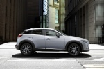 2018 Mazda CX-3 in Snowflake White Pearl Mica - Static Side View