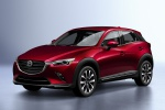 2020 Mazda CX-3 Sport in Soul Red Crystal Metallic - Static Front Left View