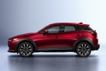 2020 Mazda CX-3 Sport in Soul Red Crystal Metallic - Static Left Side View