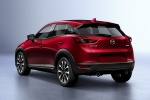 2020 Mazda CX-3 Sport in Soul Red Crystal Metallic - Static Rear Left View