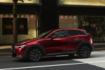 2020 Mazda CX-3 Sport in Soul Red Crystal Metallic - Driving Front Left Three-quarter View