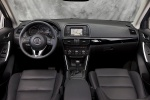 Picture of a 2014 Mazda CX-5's Cockpit in Black