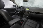 Picture of a 2014 Mazda CX-5's Interior in Black