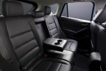 Picture of a 2014 Mazda CX-5's Rear Seats in Black
