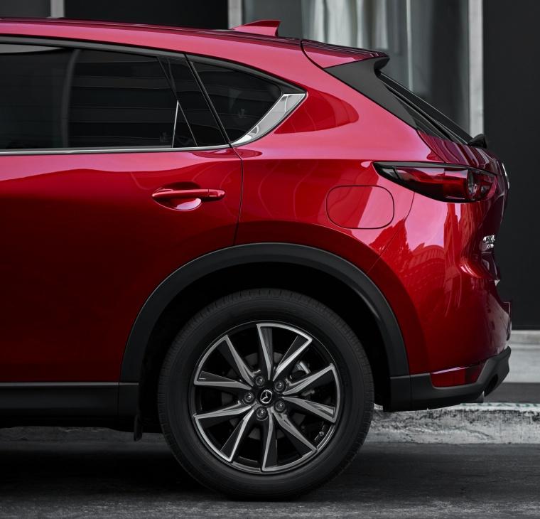 Picture of a 2017 Mazda CX-5 Grand Touring AWD's Rear Fascia