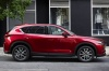 2017 Mazda CX-5 Grand Touring AWD in Soul Red Crystal Metallic from a right side view