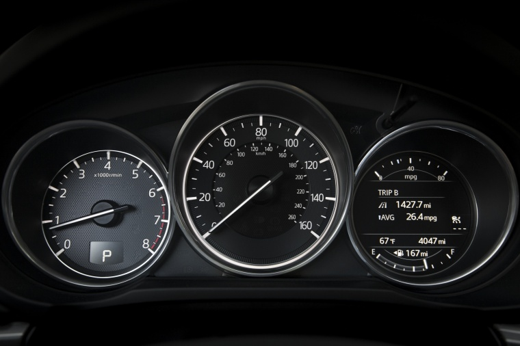 2018 Mazda CX-5 Grand Touring AWD Gauges Picture